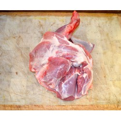 épaule d'agneau entière avec os
